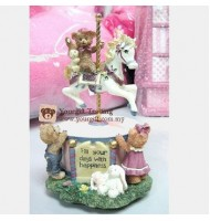 Bears Carousel Music Box