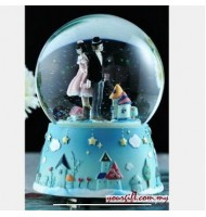 [Defect] Holding Hand Crystal Ball Music Box (CS0231)