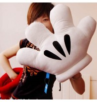 Disney Mickey Mouse Gloves Cushion Pillow Plush