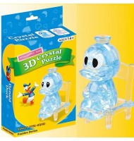 3D Mini Donald Duck Crystal Puzzle