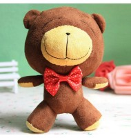 Cute Stuffed Bear Pattern Sewing Kits