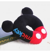 DIY Handmade Mickey U-shaped Pillow