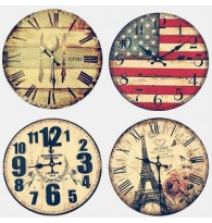 Creative Wall Wooden Clock