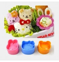 Hello Kitty D.I.Y / Rabbit / Baby Bear - Japanese 3D Sushi Rice Mold