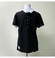 Men's Cotton Plain Polo Shirt