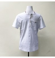 Men's Plain White Polo Shirt