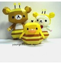 Bear Bee Suit 3D PaperCraft