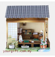 Japanese Study Room 3D PaperCraft