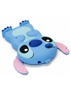 Stitch 3D iPhone 4 3D Hard Shell Case - Blue