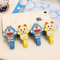 Doraemon & Dorami Winder Cable Organizer