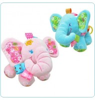 Cute Plush Lullaby Musical Elephant