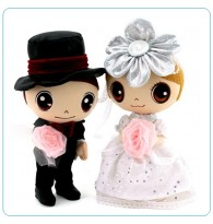 Anime Western Wedding Doll