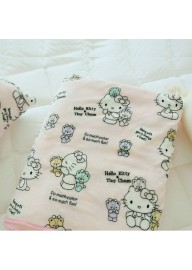 Hello Kitty Coral Fleece Blanket