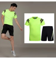 [Defect] Mens Athletic T-shirt + Short suit YB0013