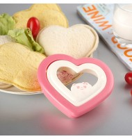 Heart-shaped Sandwich Mold