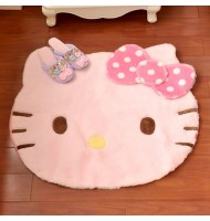 Hello Kitty Shaped Mat Rug Carpet