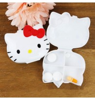 Hello Kitty Pill Box / Storage Box / Eyelash Box