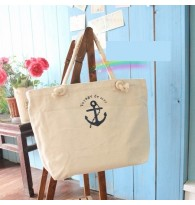 Zakka Style Canvas Shopping Bag