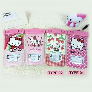 Hello Kitty Waterproof Mobile Pouch