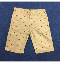 Mens Crocodile Printed Casual Shorts
