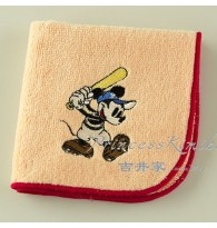 Mickey Playing Baseball towel Handkerchief