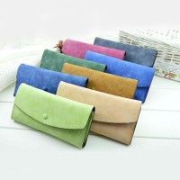 Korean Fashion Matte Ladies Purse/Wallet