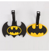 Luggage Tag Batman Logo