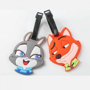 Luggage Tag Zootopia Characters