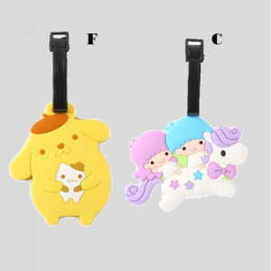 Luggage Tag Purin Little Twin Star