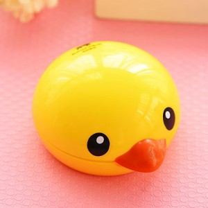 Yellow Rubber Duck Contact Lens Cases