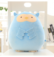 Blue Owl Nano Particle Soft Plush