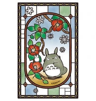Totoro Blooming Camelia Crystal Puzzle