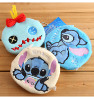 Stitch Scrump Plush Coin Purse Cosmetic Bag