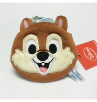 Disney Chip The Chipmunk Small Zipper Coin Purse