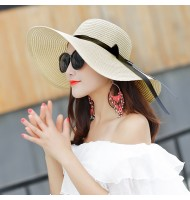 Women Foldable Big Summer Hat/Beach Hat/Sun Hat (Full Hat)
