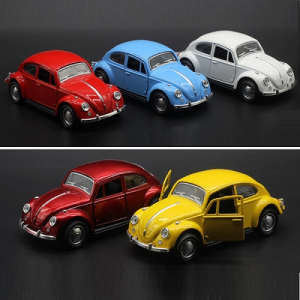 Beetle Car 1:36 Scale Pull Back Toy Car
