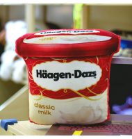 Creative 3D Haagen Dazs Ice-cream Pillow Cushion