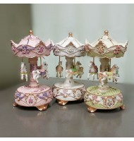 Carousel Music Box with Luminous Light
