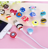 Cute Cartoon USB Cable Protector Cover / Anti-Break Protection (A)
