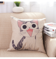 Chi's Sweet Home Printing Cotton Linen Pillow Case Cushion Cover