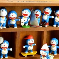 Doraemon 10 Different Sport Decoration