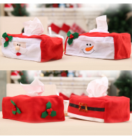 Christmas Tissue Box Case Cover Holder