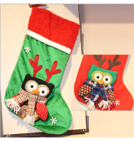 Christmas Socking Decoration Owl