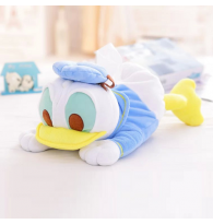 Donald Duck Plush Tissue Box Cover Holder