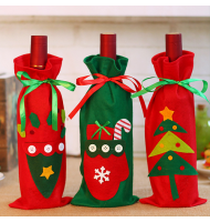 Wine Bottle Cover Christmas Gift Bags