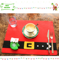 Christmas Placemats with Cutley Holder