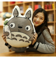 Totoro with Carrot Soft Cushion Pillow