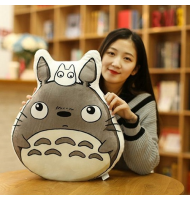 Totoro with Chibi Soft Cushion Pillow