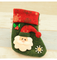 Mini Christmas Santa Stockings