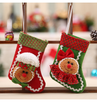 Unique Gingerbread Christmas Stocking